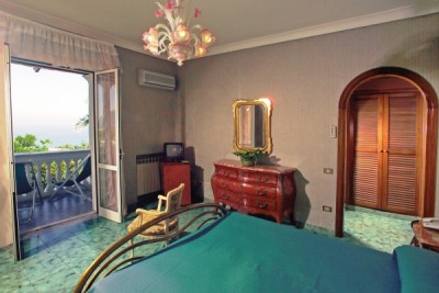 Junior suite con vista sul mare