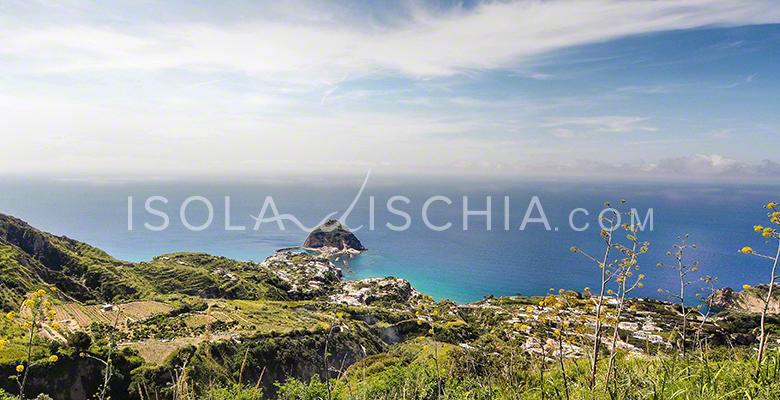 Panorama dal Belvedere di Serrara Fontana a Ischia